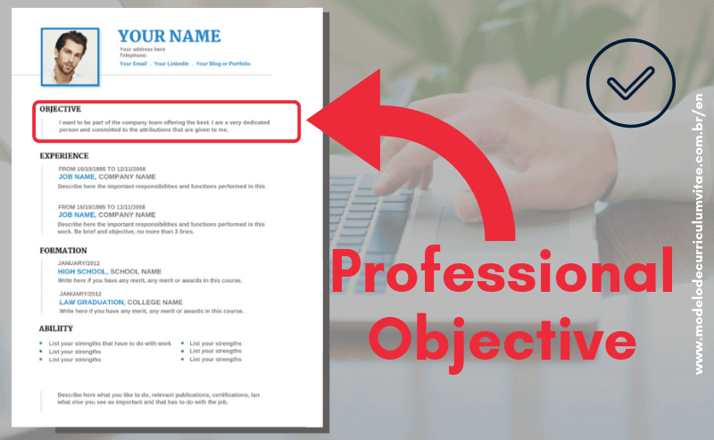 Professional Objective Examples